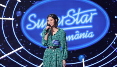 """O tânără din Chișinău a primit biletul auriu la SuperStar! ,,Cânți minunat, nu poți să te lași de muzică"""""""