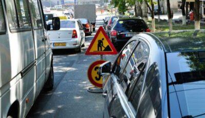 Atenție, șoferi și pasageri! Trafic suspendat  pe o stradă din Capitală