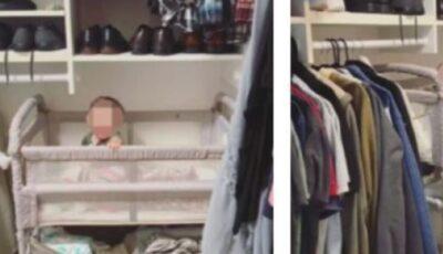 O mamă își culcă bebelușul într-un dulap. Cum își motivează gestul?