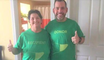 Un bărbat a slăbit 36 kg pentru a putea deveni donator pentru mama sa