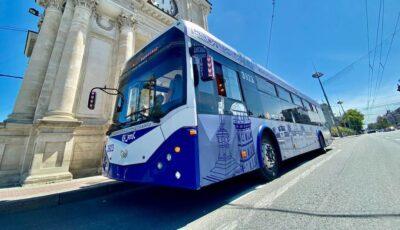 De Hramul Chișinăului, troleibuzul turistic va efectua excursii prin Capitală