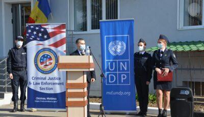 Sectorul de Poliție din Cahul, renovat în totalitate cu suportul Guvernului Statelor Unite