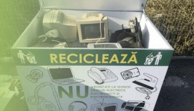 Campanie națională de colectare și reciclare a deşeurilor electrice şi electronice
