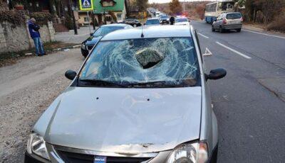 Un bărbat a murit după ce a fost lovit pe o trecere de pietoni din Capitală