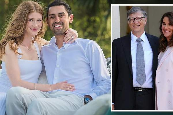Foto: Fiica lui Bill Gates s-a căsătorit cu un om de afaceri egiptean! Primele imagini de la nuntă