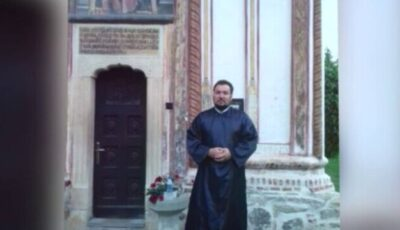 Un preot de doar 46 de ani din Dolj și soția lui, ambii nevaccinați, au murit de Covid-19