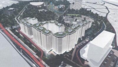 Un complex imobiliar imens urmează să fie înălțat lângă Circul din Capitală