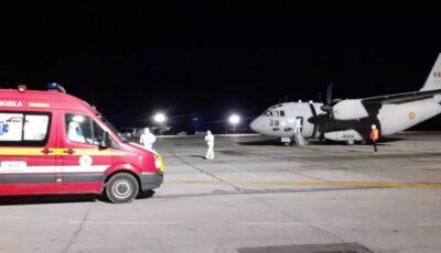 România a început primul transfer în Ungaria al pacienților cu Covid în stare gravă
