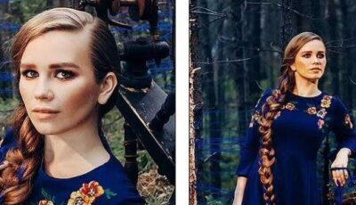 Ea este femeia care nu s-a tuns timp de 23 de ani. Cum arată părul ei?