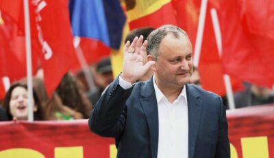 """Igor Dodon îşi ia """"la revedere"""" de la funcția de deputat în Parlamentul Republicii Moldova"""