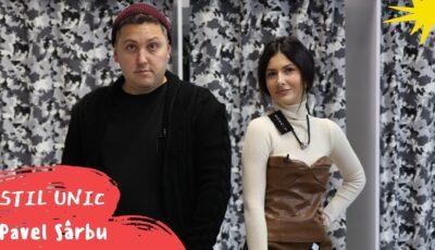 Pavel Sârbu îmbrăcat ca Monatik și pus să-i cumpere Nicoletei Adam o ținută