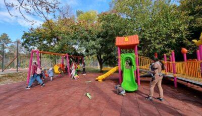 În Chișinău a apărut un complex de joacă pentru copiii cu nevoi speciale