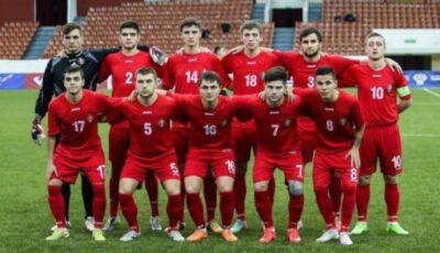 Tinerii fotbaliști din Moldova au câștigat meciul cu Țara Galilor