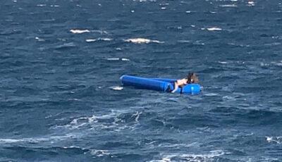 Patru copii s-au înecat după ce barca în care se aflau s-a scufundat în largul insulei Chios din Grecia