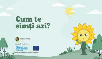 Cum te simți azi? A fost lansată platforma care te ajută să găsești în apropiere un specialist în sănătate mintală – www.cumtesimtiazi.md