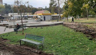 Încă un scuar din Capitală va fi renovat, cu ajutorul României