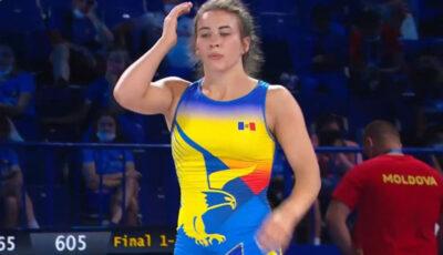 Irina Rîngaci a cucerit medalia de aur la Campionatul Mondial