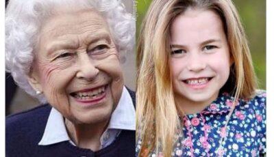 Foto! Cât de mult seamănă Prințesa Charlotte cu străbunica ei, Regina Elisabeta a II-a!