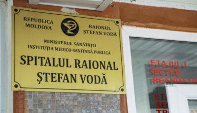 Spitalul din Ştefan Vodă va fi reabilitat cu susţinerea României