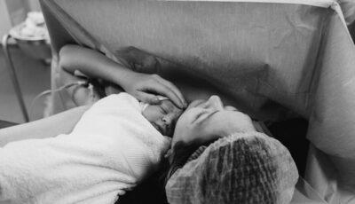 Momente pline de emoție! Gloria Gorceag a dezvăluit imagini exclusive de la nașterea fiului său