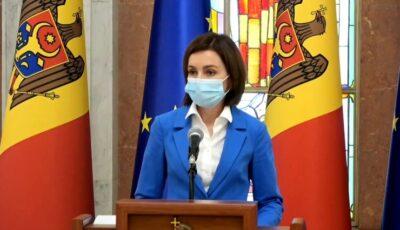 Maia Sandu: Combaterea violenței asupra femeilor înseamnă mai multe șanse de dezvoltare pentru Moldova și pentru întreaga societate