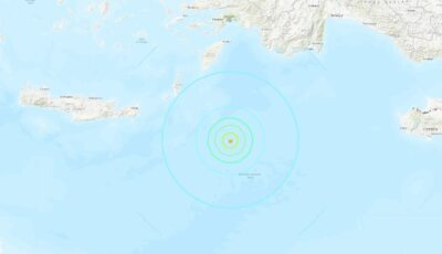 Cutremur puternic între Grecia şi Turcia