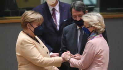 Oficialii Uniunii Europene şi-au luat rămas bun de la Angela Merkel