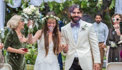 """Cum şi-a surprins o mireasă soţul nevăzător în ziua nunţii: ,,Am simţit că arată ca un înger!"""""""