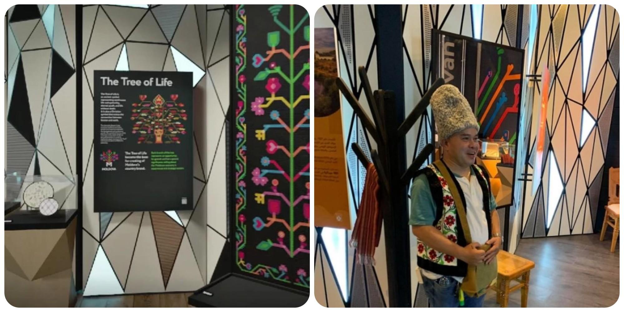 Foto: În doar două săptămâni, pavilionul țării noastre de la Expoziţia Mondială din Dubai a fost vizitată de peste 6000 de oameni