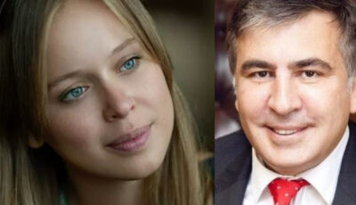 Mihail Saakașvili și-a arătat noua soție