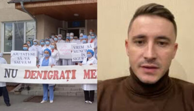 Emilian Crețu, pus să-și ceară scuze publice de către spitalul raional Telenești