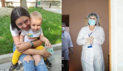 Mai multe mămici care alăptează s-au vaccinat împotriva Covid-19 și relatează experiența lor