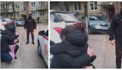 O fetiță din Capitală a fost ajutată de carabinieri să ajungă acasă