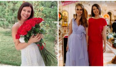 Natalia Barbu și-a încreștinat fiica. Poze de la petrecerea Verei