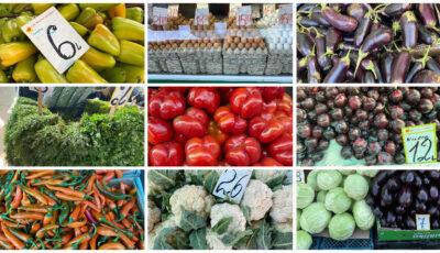 Piața Centrală din Chișinău: Care sunt prețurile la legume, carne, ouă și alte produse