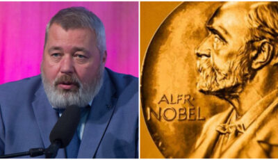 Jurnalistul rus Dmitri Muratov este câștigătorul Premiului Nobel pentru Pace 2021