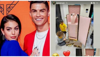 Ultimul cadou pe care Ronaldo i l-a făcut Georginei a lăsat-o fără cuvinte pe iubita fotbalistului