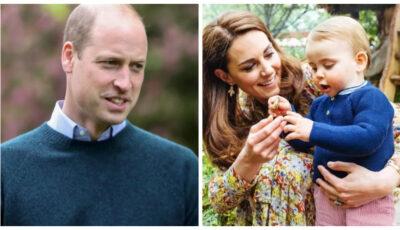 """Prințul William, dezvăluiri neașteptate despre fiul său cel mic, prințul Louis: """"Locuiește afară"""""""