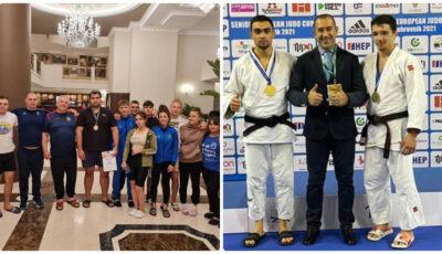 Sportivii moldoveni, pe podium la Campionatul Mondial de tineret la sambo și Cupa Europei de la Dubrovnik
