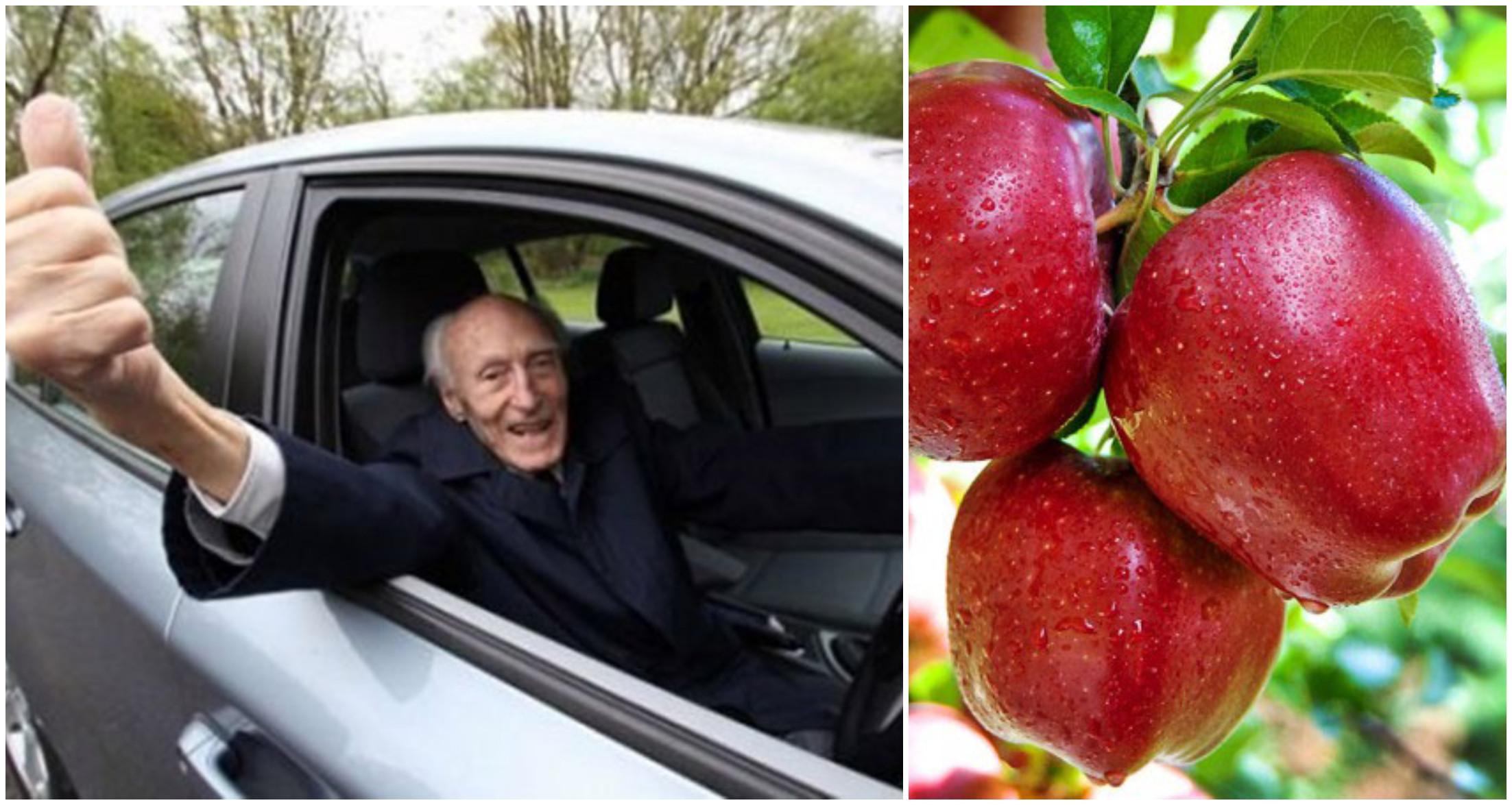 Foto: Bărbatul de 108 ani vă sfătuiește să mâncați regulat aceste 5 alimente