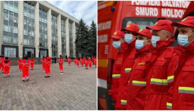 Zece angajați SMURD din cadrul IGSU vor acorda ajutor medicilor de peste Prut