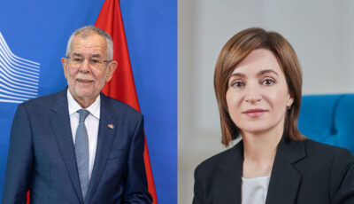 Maia Sandu, invitație oficială în Austria din partea Președintelui Alexander Van der Bellen