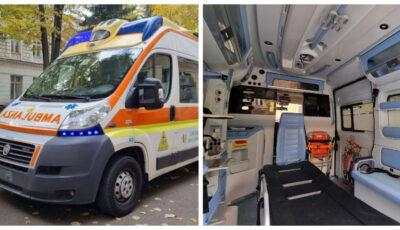 Două ambulanțe moderne, în stare perfectă, donate de Italia au ajuns la Chișinău