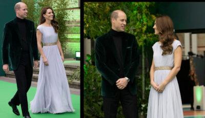 Kate Middleton și Prințul William, în ținute de gală răvășitoare la un important eveniment dedicat protecției mediului