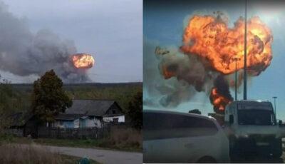 Explozie uriașă la o fabrică de praf de puşcă din Rusia. Cel puțin 16 morți