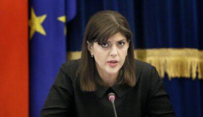 Parchetul European, condus de Laura Codruța Kövesi, a făcut primele arestări. Confiscări de peste 13 milioane de euro