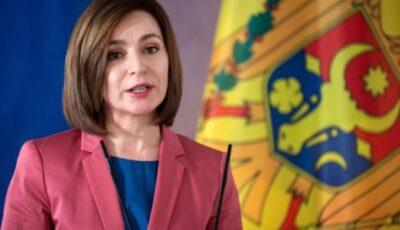 Cetățenii din România au cea mai mare încredere în Maia Sandu. L-a devansat pe Joe Biden