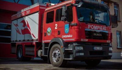 Procuratura Ungheni a luat foc aseară