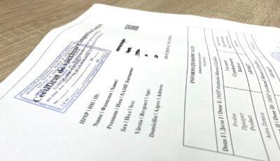 Începând cu 15 octombrie, cetățenii vor putea descărca online certificatul Covid-19