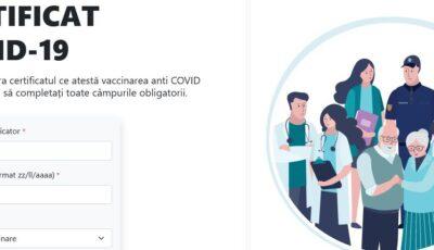Moldovenii pot descarca online certificatul Covid-19